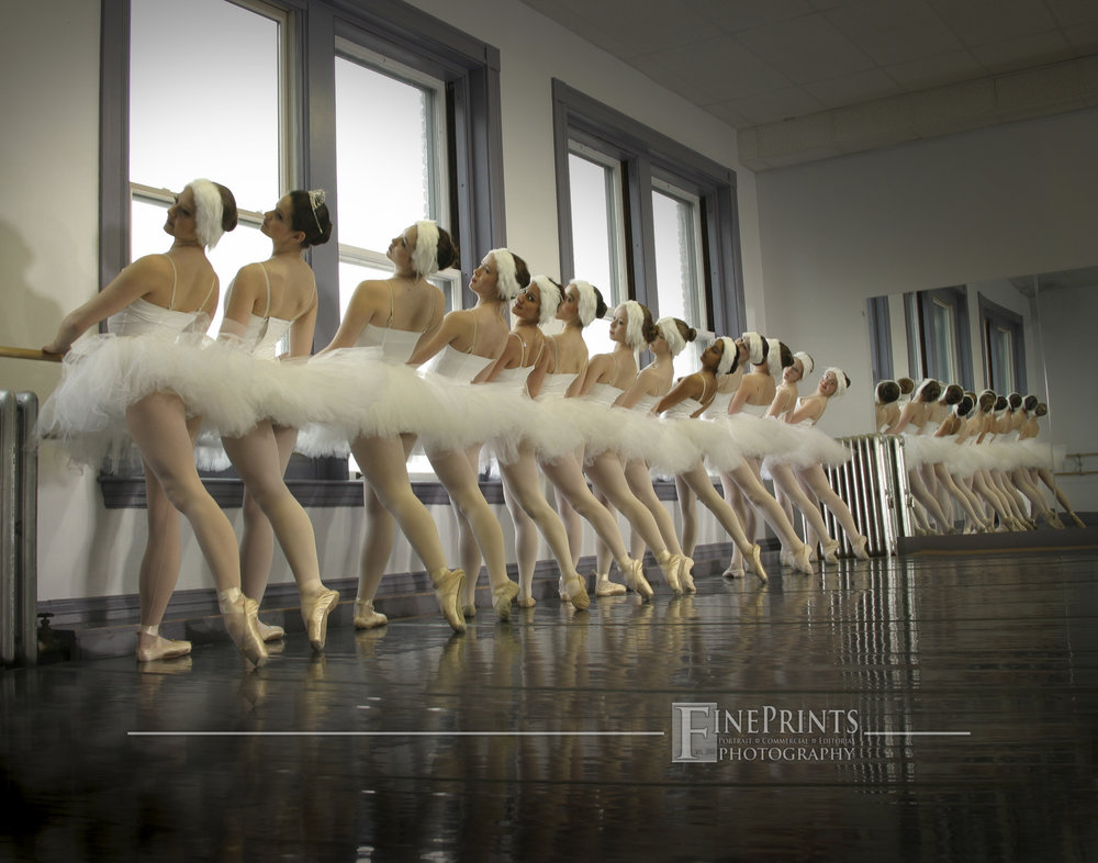 IMG_7130 11x14 Michael Hallahan - FinePrints Swans at the Barre.jpg