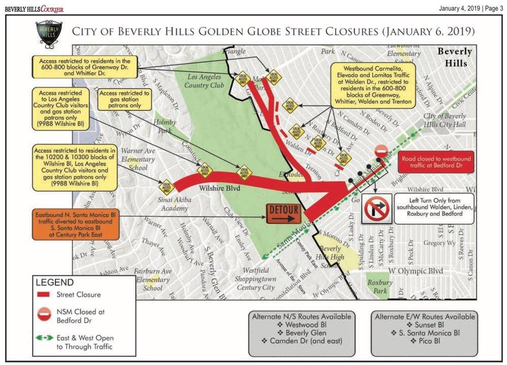 Golden Globe Street Closures 2019.jpg