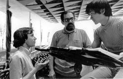 Siegel, William Russo, & Maestro Seiji Ozawa