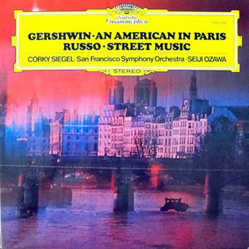 Street Music - on Deutsche Grammophon -Winner of the Grande Prix Du Disque Award