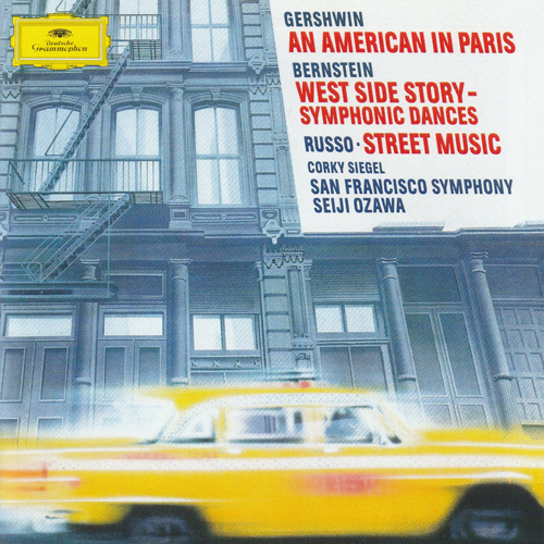 Compact Disk:  Russo's STREET MUSIC - Corky Siegel - Seiji Ozawa - San Francisco Symphony  (only one of the Russo works)
