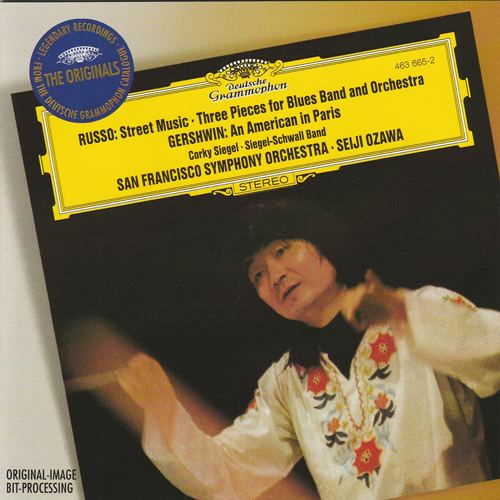 OUT OF STOCK:  Compact Disc:  Both  STREET MUSIC & 3 PIECES - Corky Siegel, Siegel-Schwall - Seiji Ozawa San Francisco Symphony