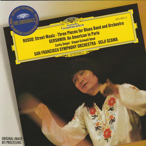 Compact Disc:BothSTREET MUSIC & 3 PIECES - Corky Siegel, Siegel-Schwall - Seiji Ozawa San Francisco Symphony