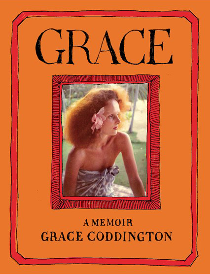 STATE OF GRACE    I count myself among the many Grace Coddington fans who didn't even know who she was until watching  The September Issue . But I can tell you that I was charmed instantly. So far, just a couple chapters in, I'm equally charmed by her memoir.   Also, I kind of have a crush on the cover.