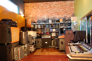 JHOC Wall o' Amps