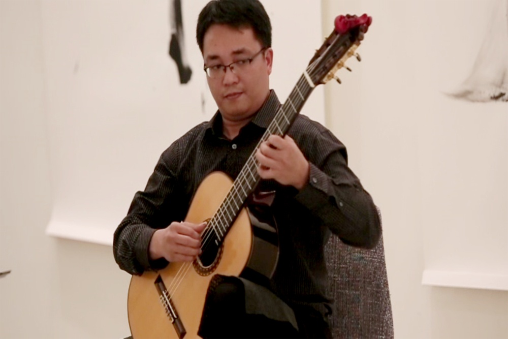 Performance by Manuel Cabrera II