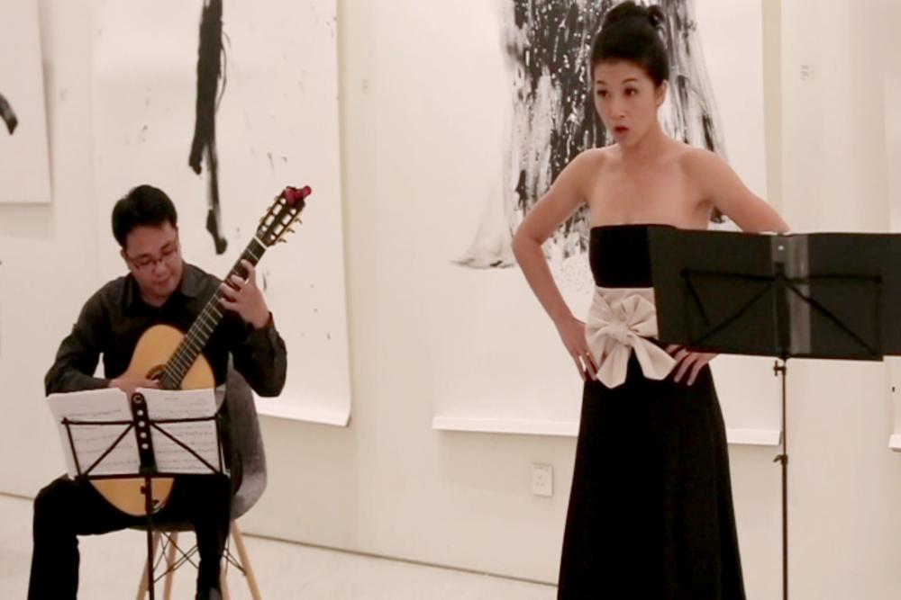 Performance by Manuel Cabrera II & Lim Yan Ting