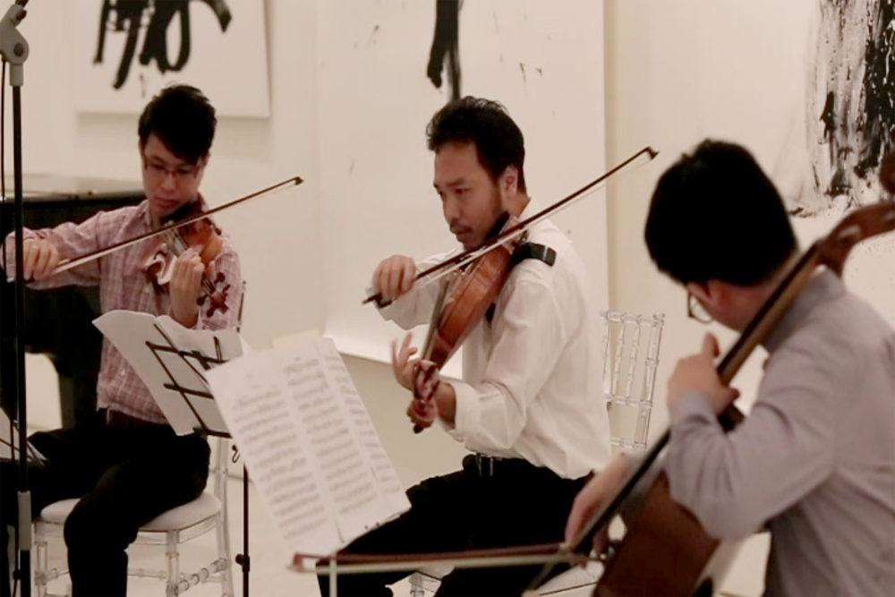 Performance by Siew Yi Li, Keita Suyama & Lin Juan