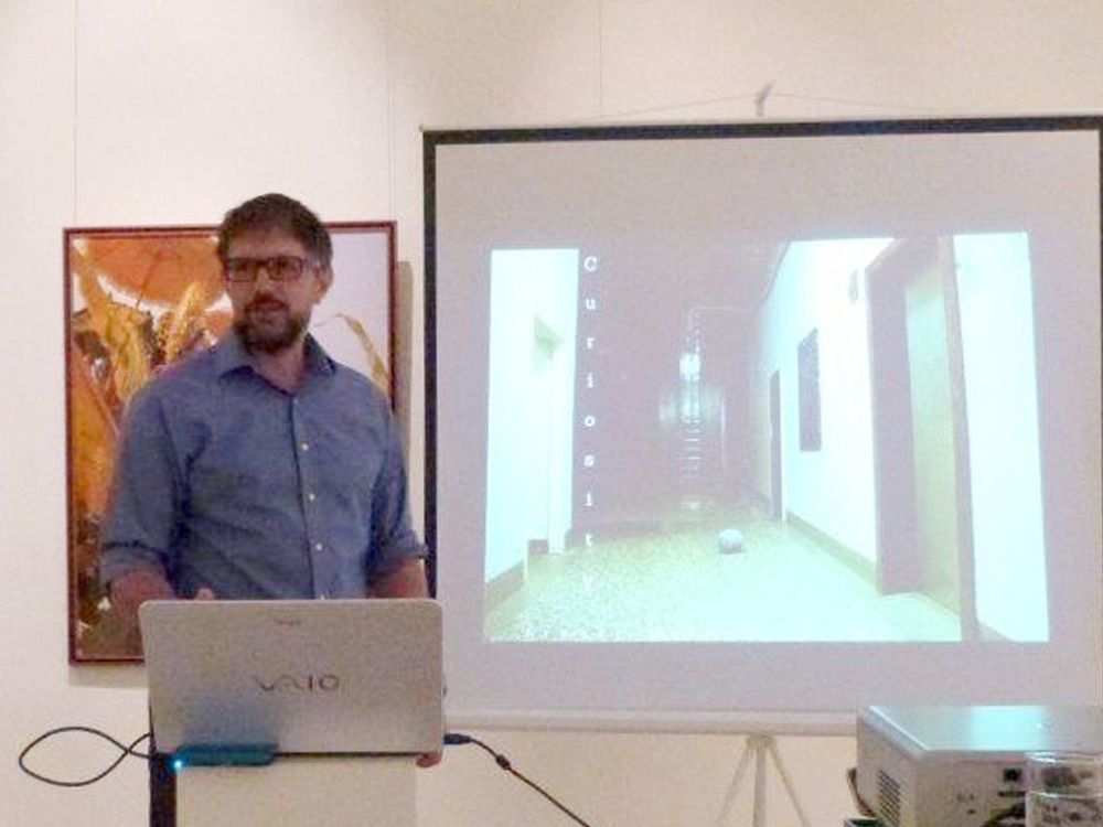 Guest Lecture by Frazer Macdonald Hay, Director of The Glasgow School of Art Singapore