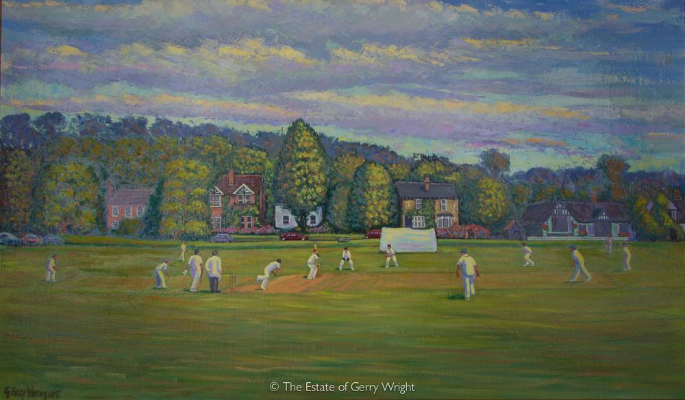 Cricket at Bearsted Green