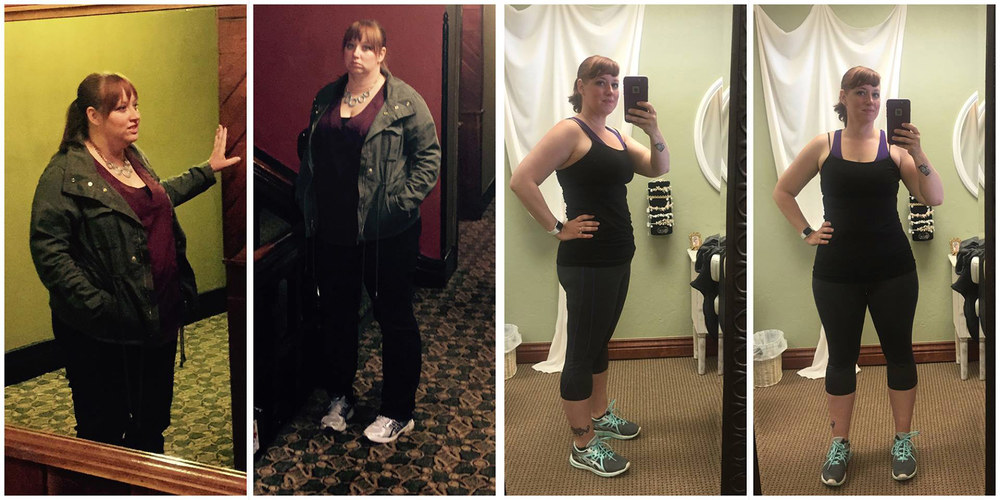 Kriea has now finished two 100 day challenges and has dropped over 50 pounds!