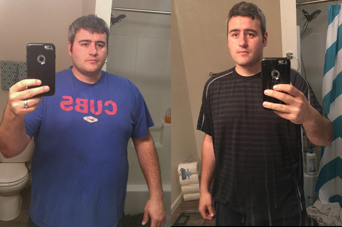 Craig dropped 56.7 pounds in the first 100 days.