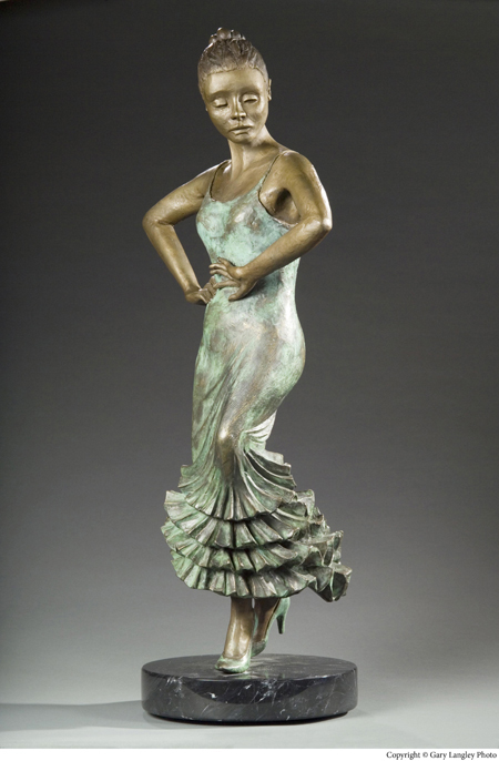 Bronze Dancer, Limited edition bronze, $12,500.