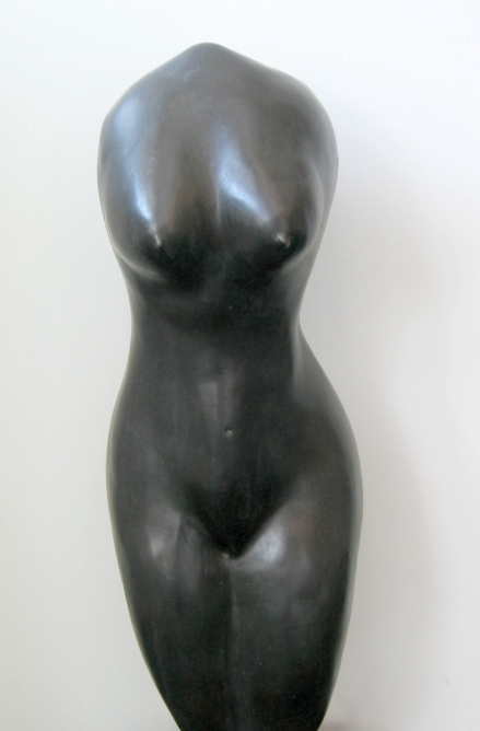 Female Torso, limited edition bronze, $1,400.