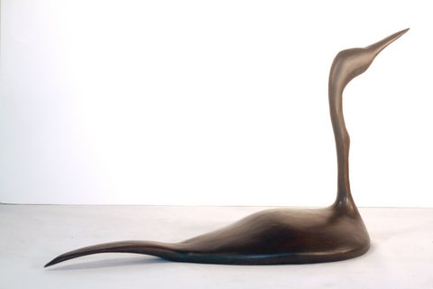 Grebe, limited edition bronze, $1,800.
