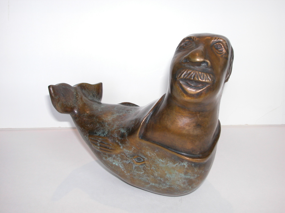 Jonah, bronze. edition #2/10. $2,800.