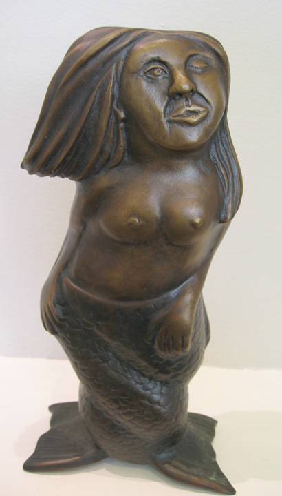 Melusine, bronze. edition #4/10. $2,800.