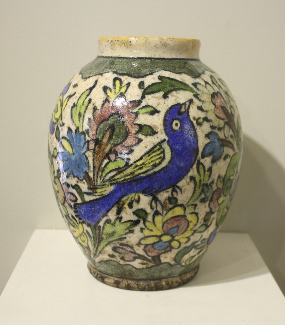 Persian Vase w/ Blue Bird (100-150 years old), $1900