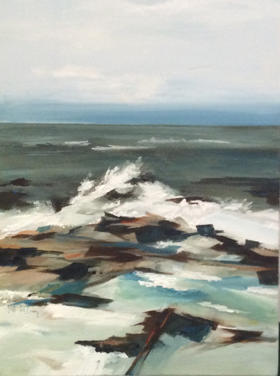 Coastal Surf II, 24x18.