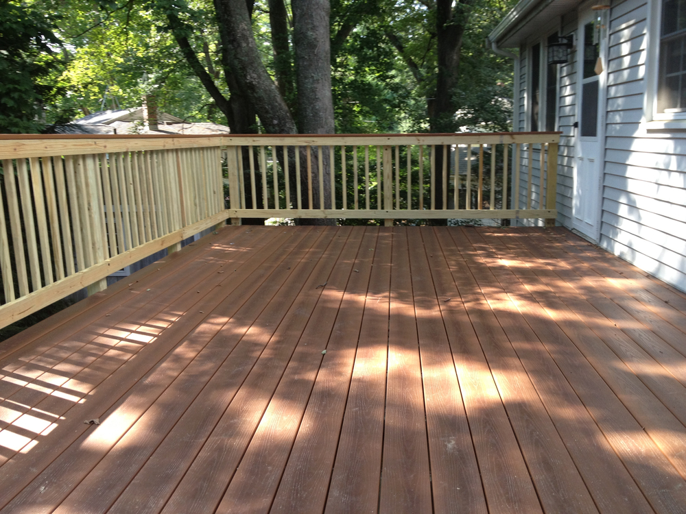 New Composite Decking Project - Medway 2011