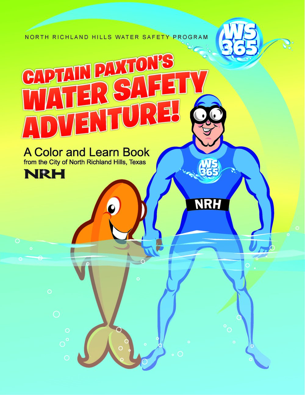 Captain Paxton Coloring Book