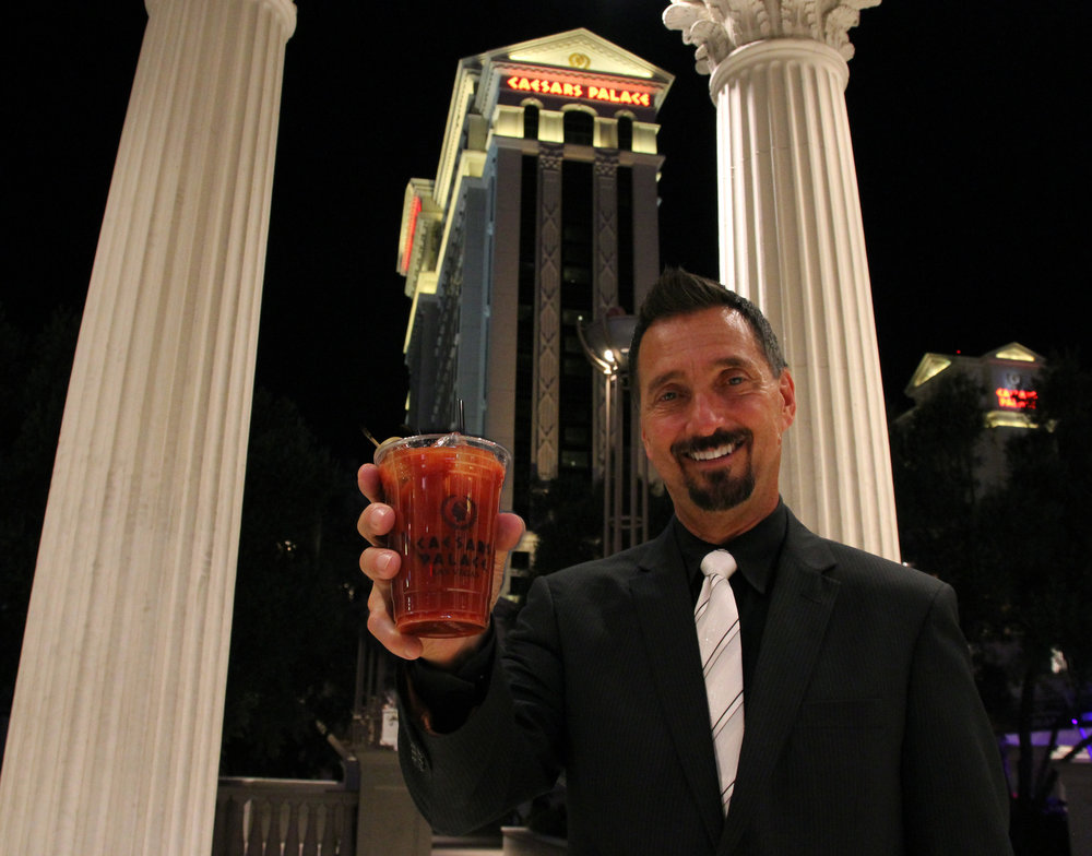 CS Group CEO Rich Davis Toasts a New Deal with Caeser's Entertainment Group