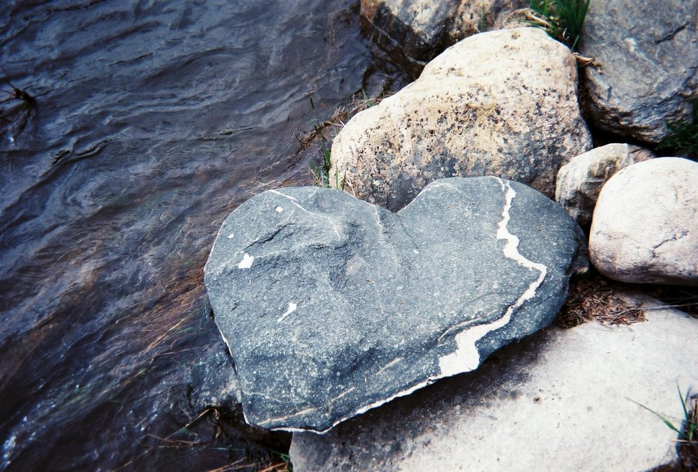 Abundant- Rebecca Crummey  When you pay attention you will see hearts everywhere. For me this is a constant reminder of God's abundant, lavish love for us all. I always seem to see one in the most random places when I need it the most