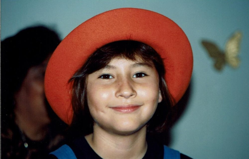 Me, at 8 years old.