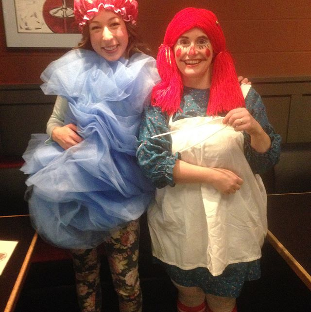 Happy Halloween from #YPNanaimo. The first picture is of our costume contest winners a Loofa and Raggedy Ann. The rest of the photos are all the other amazing dress-ups - Wonder Woman, Robin Hood, Monster Hunter, June Cleaver  and Cat. Thanks for coming in the Halloween spirit all!