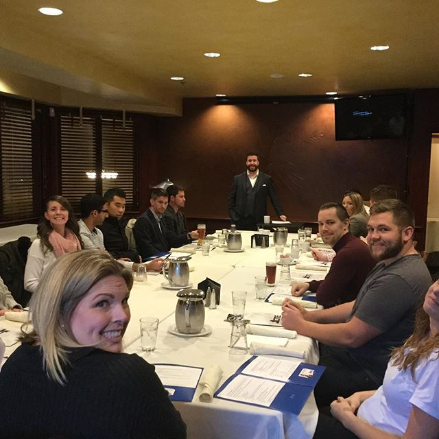 Awesome turn out today! #lunchandlearn #ypnanaimo