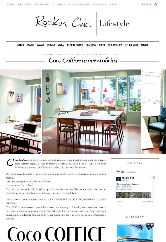 Coco coffice - Calle manso barcelona ...