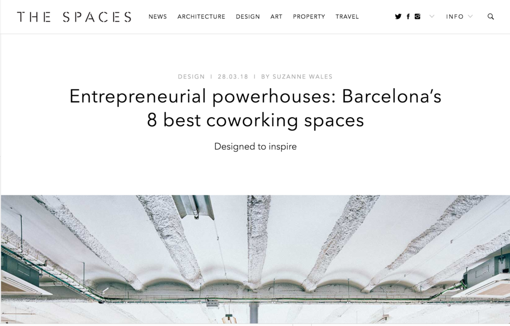 Entrepreneurial powerhouses: Barcelona's 8 best coworking spaces