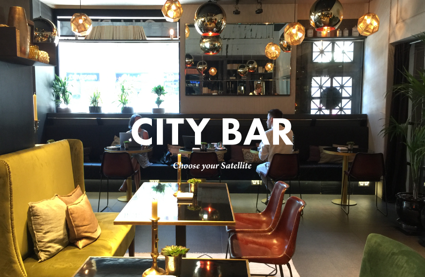 City Bar , arty & sophisticated space located at Grand Hotel Central 5 star-hotel.