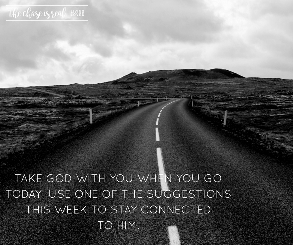 Pay attention to the blogs this week, the posts on  Facebook , the discussion on  The Chase Connect .  Apply what seems useful and pay attention to the difference it makes in your day.