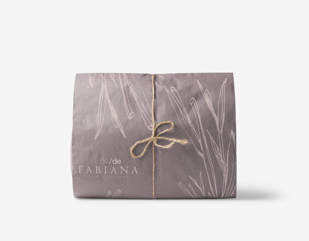 LIN/de Fabiana - Identity   -packaging