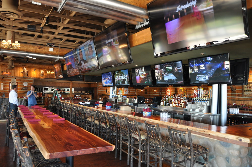 "Twin Peaks in Irving Texas was quite the project with 39 Total Automated and fully controlled displays including 10 - 90"" TVs around the bar itself. We had Savant take care of the programming and we were told this project was the first home run in a long time for them."