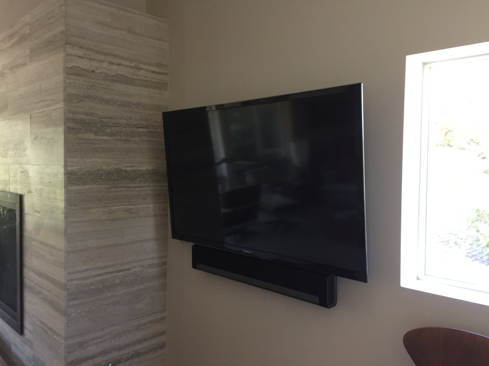 TV in the Living Room