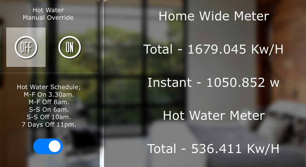 Austin Home Automation Energy monitoring