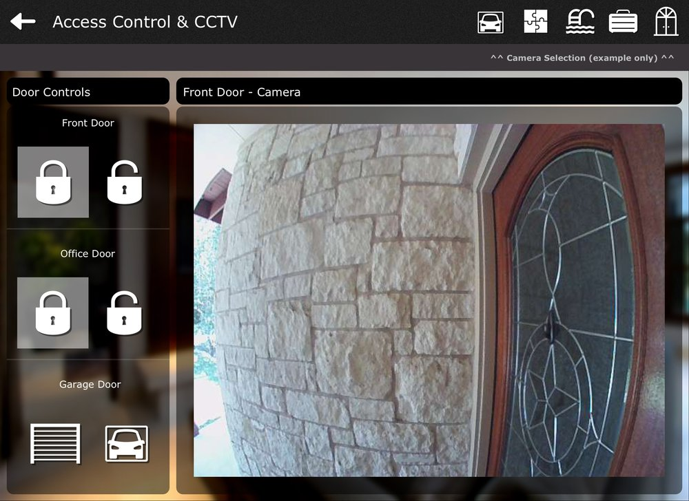 Austin Home Automation Front Doorbell Cam
