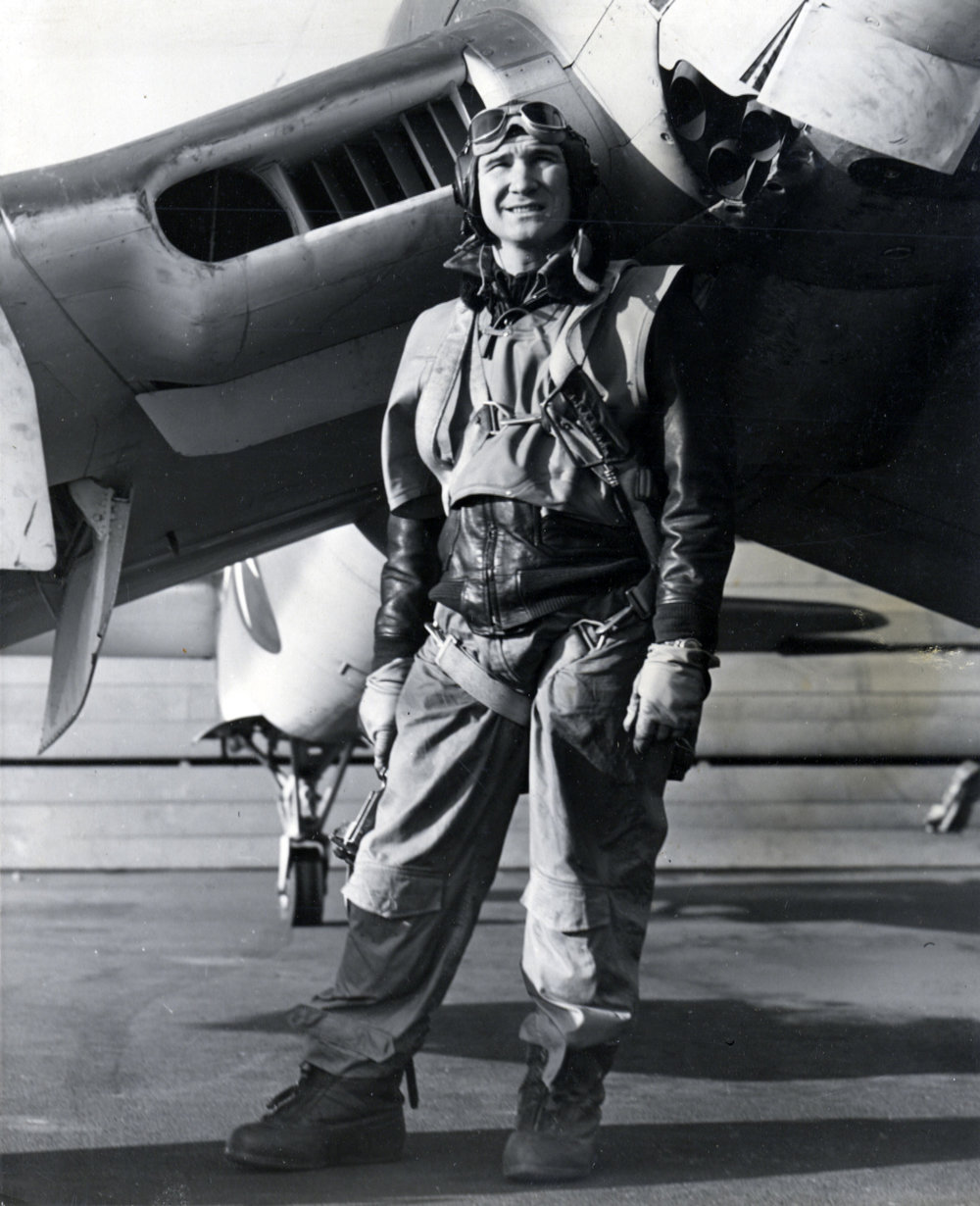 Walter J Koladza – Test pilot in the Corsair.