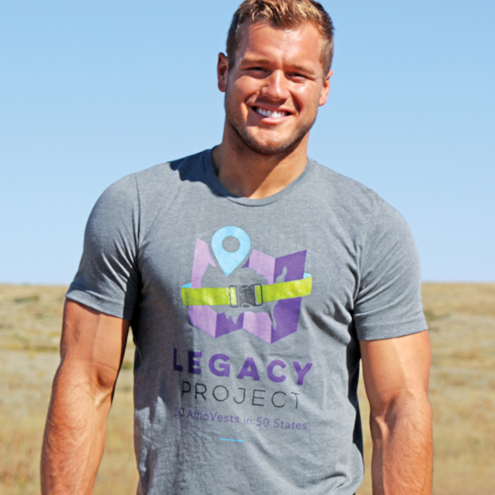 Win one of 15  Legacy Project T-shirts