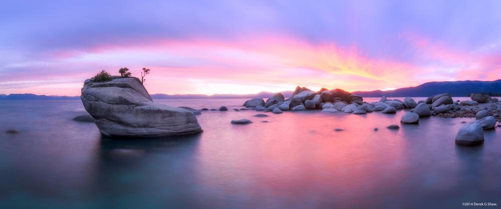 Sunset at Bonsai Rock
