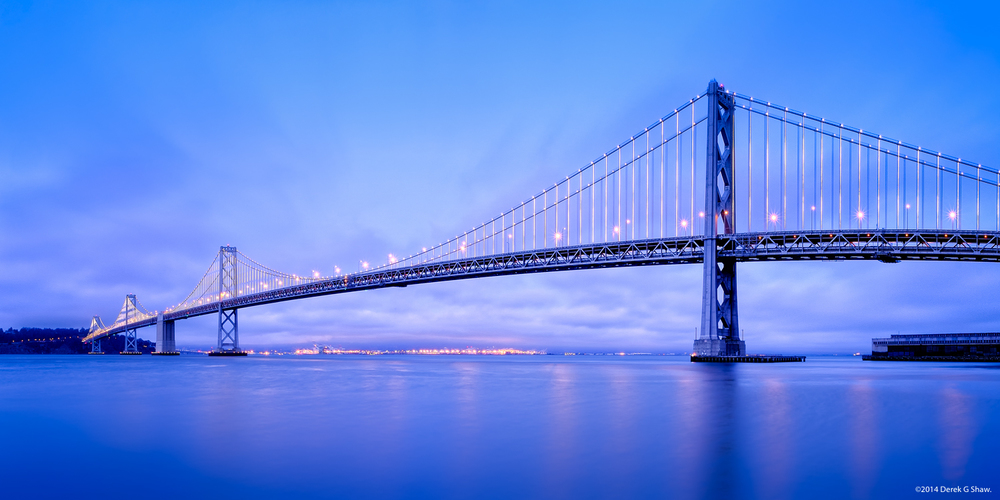 Bay Bridge at Twilight