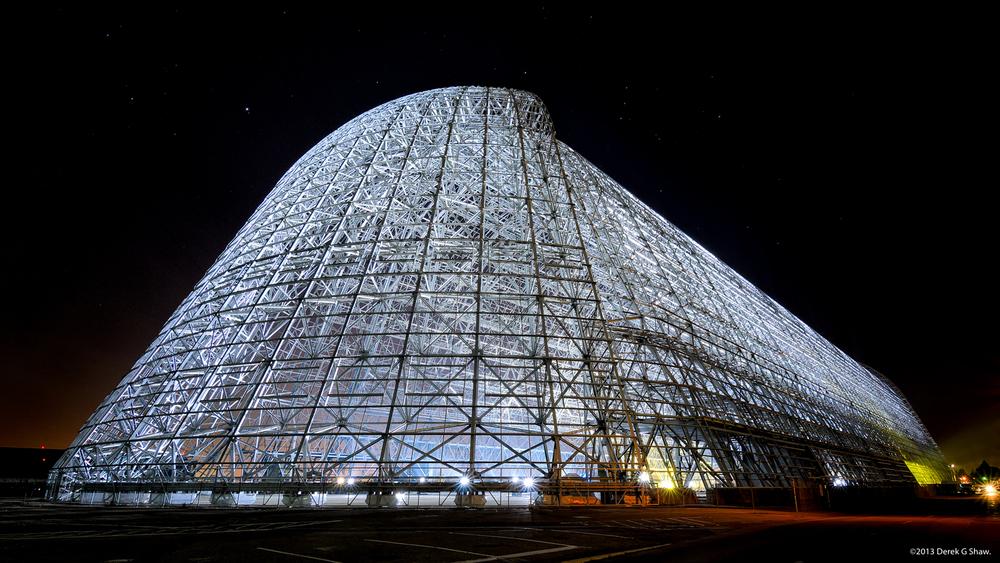Hangar 1 at NASA Ames Research Center