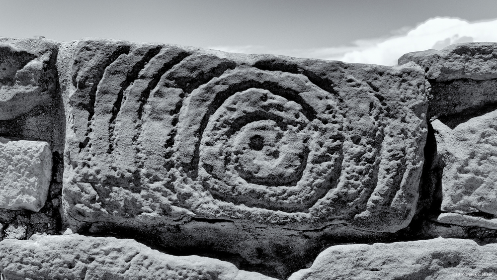 Spiral Symbol at Far View Site