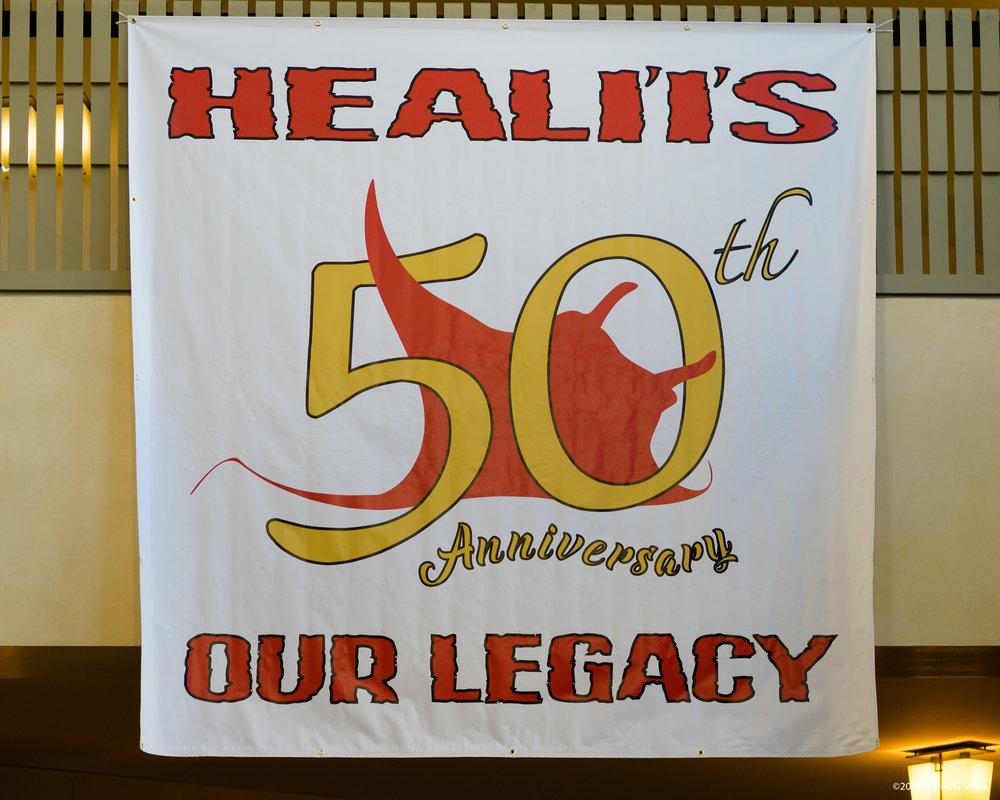 Heali'i's 50th Anniversary