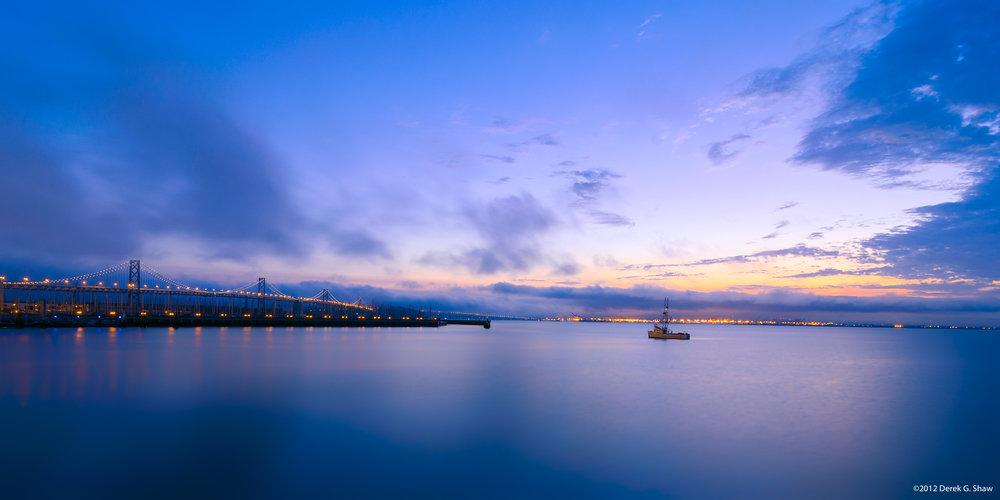 Fishing Trawler in San Francisco Bay