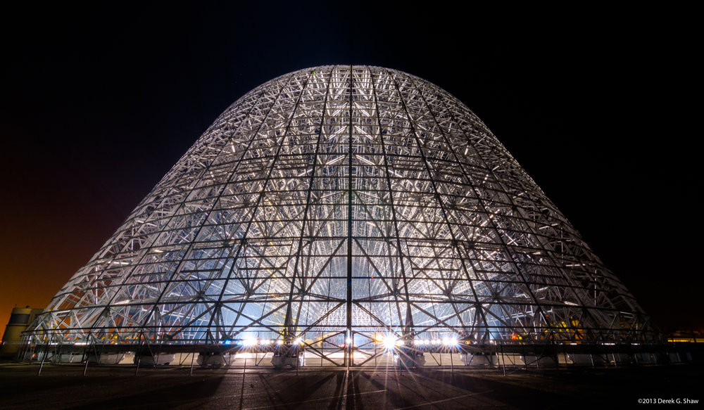 Hangar 1 at NASA Ames Research Center