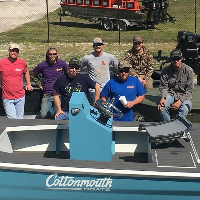 Come see our guys this weekend at The Louisiana Sportsman Show at Lamar Dixon. We are loaded up and heading out.  #bossdrive #cottonmouthboats #suzukimotors #hondamotors #freedomoutboardmotor #louisianasportsmanshow #minnkotamotors #bowfishing #mudboat #duckhunting #mcclaintrailers #diamondcitytrailers #huntinglife