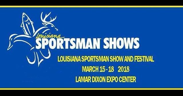 Today is the day! Opening day at Louisiana Sportsman Show! Stop by to see us at booth #7107  #bossdrive #cottonmouthboats #suzukimotors #hondamotors #freedomoutboardmotor #louisianasportsmanshow #minnkotamotors #bowfishing #mudboat #duckhunting #mcclaintrailers #diamondcitytrailers #huntinglife